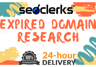 5 Expired Domain Research For You With High Metrics
