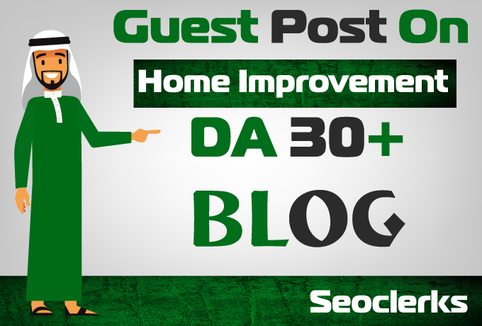 Guest post on my Home Improvement website