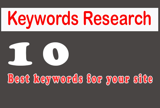 i will provide niche relevent SEO based keyword research
