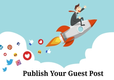 Sky rocket your Website with 7 guest post DA 80+ sites