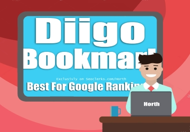 I will write and publish or only publish a guest post strong backlinks on Diigo or Diigo. com