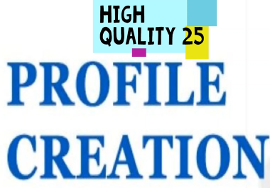 Get target visitors with 90+ DA to 50 profile creation for your website