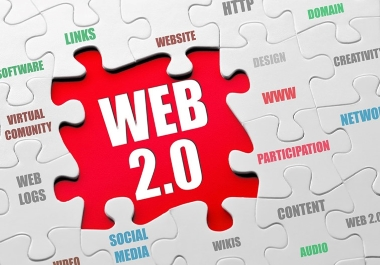 I will provide you manually 15 web 2.0 backlinks for your website.