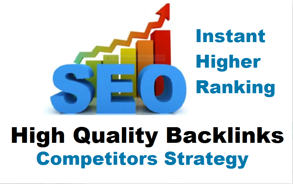 I will create high quality back links for instant uplift ranking sites