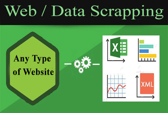 I will do Python Web Scraping,  Data Mining,  Lead Generation to 10 formats