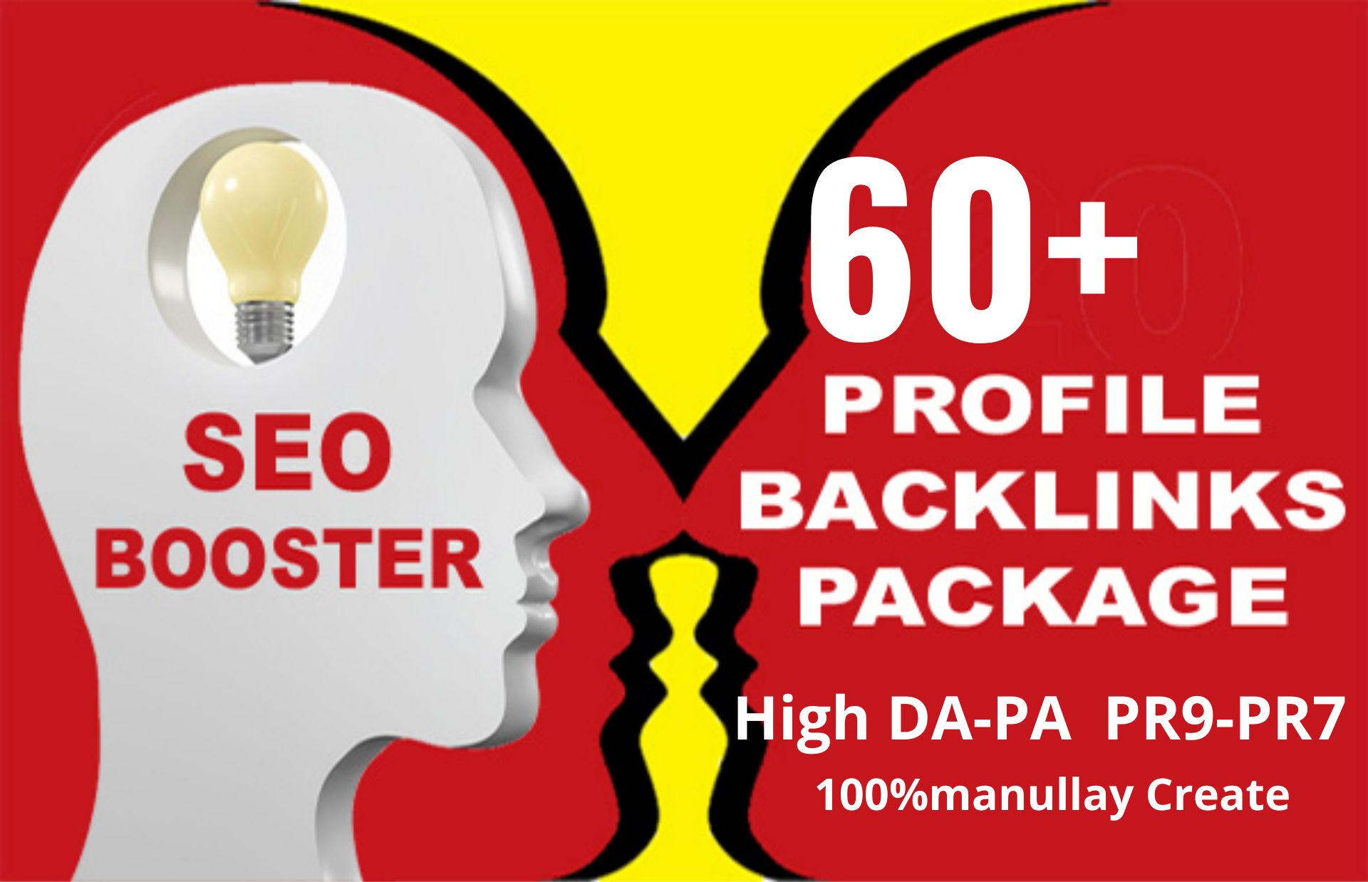 create 60+ high pr DA PA profile backlinks