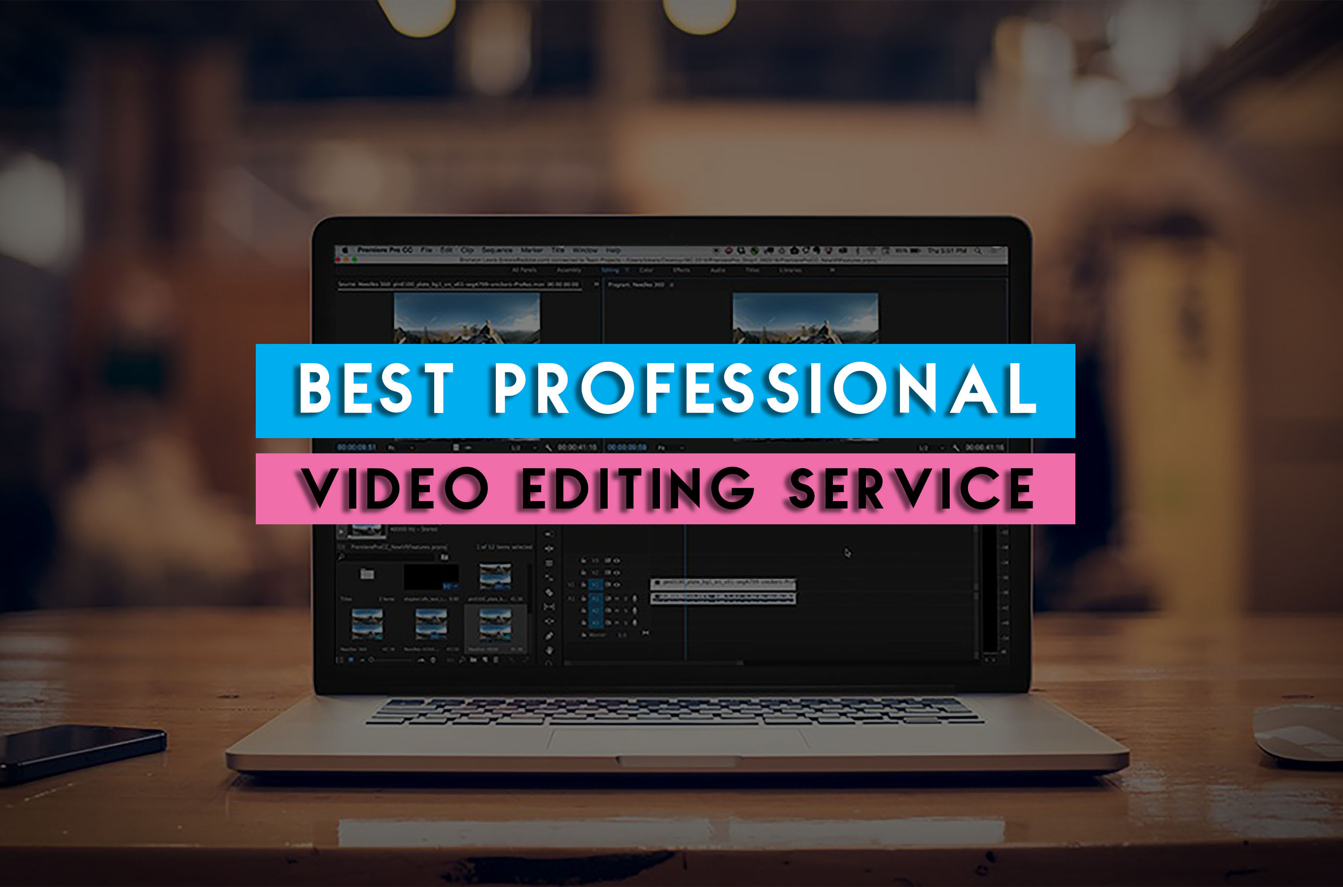 I will do professional video editing and motion graphics in 24 hours