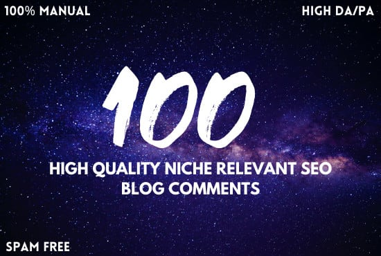 I will create 100 high quality niche relevant seo blog comments to boost site ranking