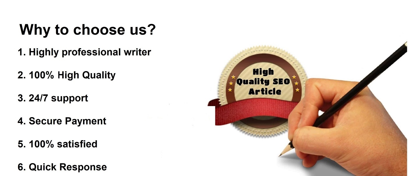 I will write an SEO optimized article of 2000 words