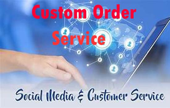 Custom Order service For My SMM Clint Supper FAST