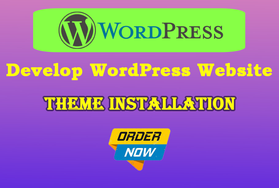 I will install professional WordPress theme in less price