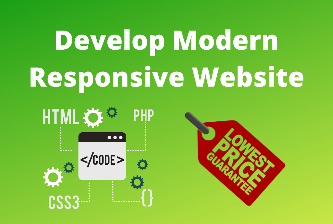 I will develop any kind of custom website in HTML,  CSS,  PHP,  JavaScript coding