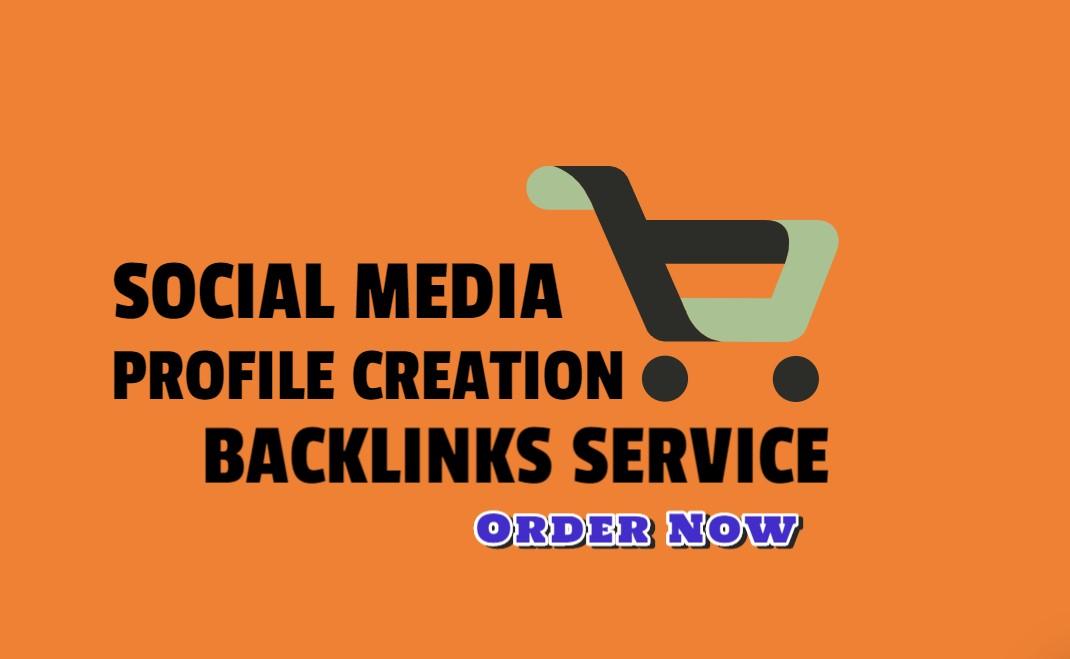 DA 80+ Social Media Profile Backlinks For Your Website Ranking
