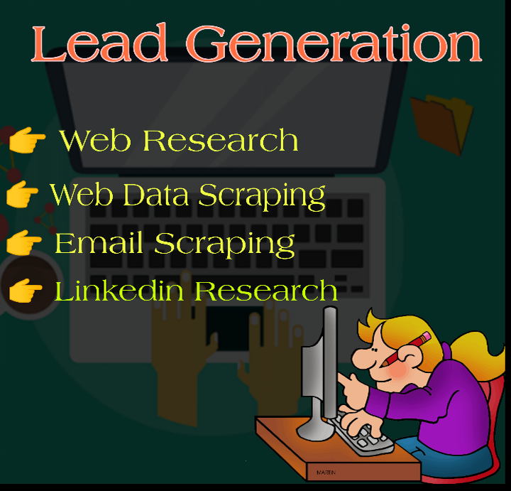 Web Research and Yellow Pages Scraping