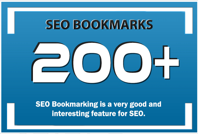 Add 200 Bookmarking Guaranteed Dofollow Backlinks With DA-PA-TF 100-80 for your Website