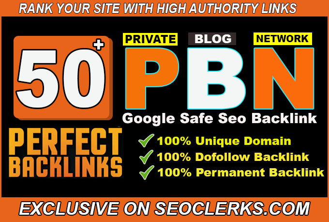 create 50 permanent pbn post powerful pbn links