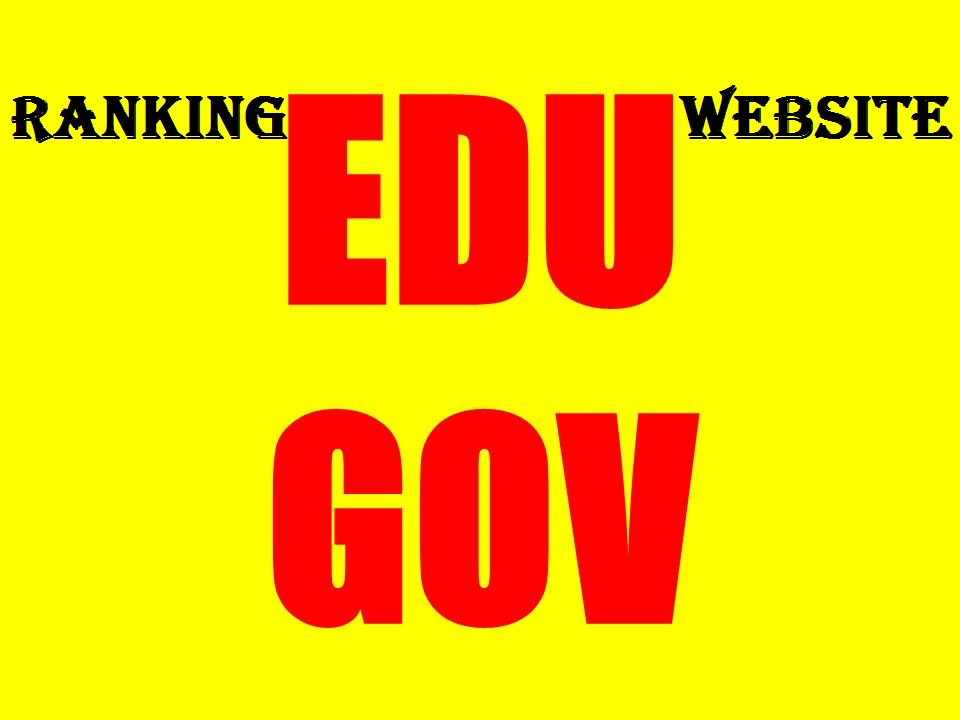 I Will Boost Your Website 20 High Pr Edu Gov Backlinks With Google SEO Ranking