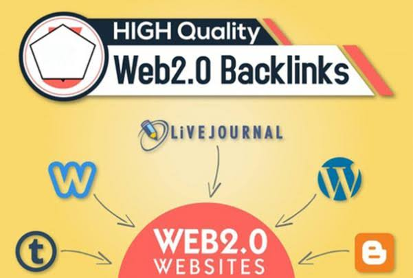 Get 1000 Powerful Do-follow Web 2.0 Backlinks to Rank at 1st Position