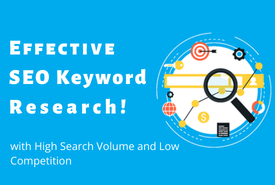 Advanced SEO Keyword Research and Competitors Analysis