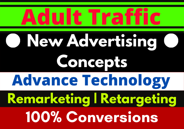 Get Adults Campaign Traffic,  Promotions and Marketing for 30 days