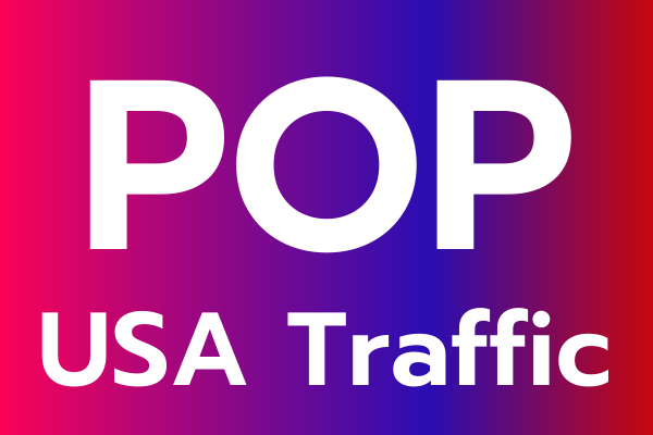 All popup,  USA niche targeted advertising website web traffic