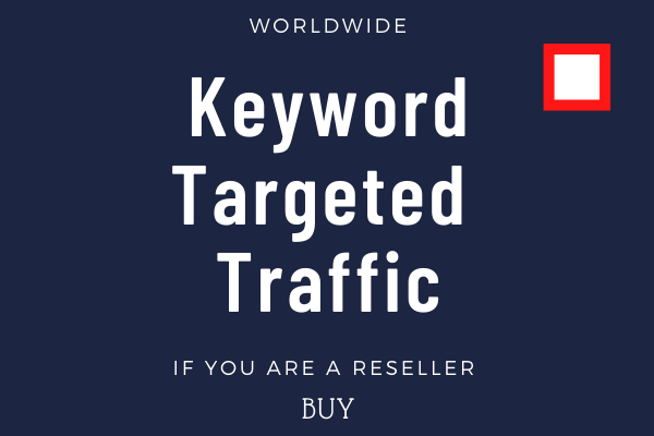 Real human organic keywords targeted traffic from worldwide