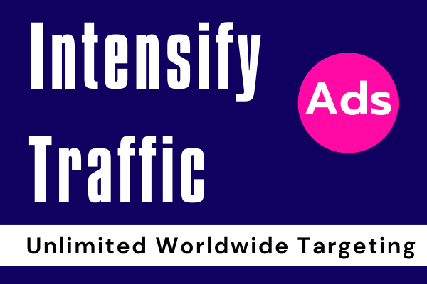 Organic niche targeted real Intensify traffic service from worldwide