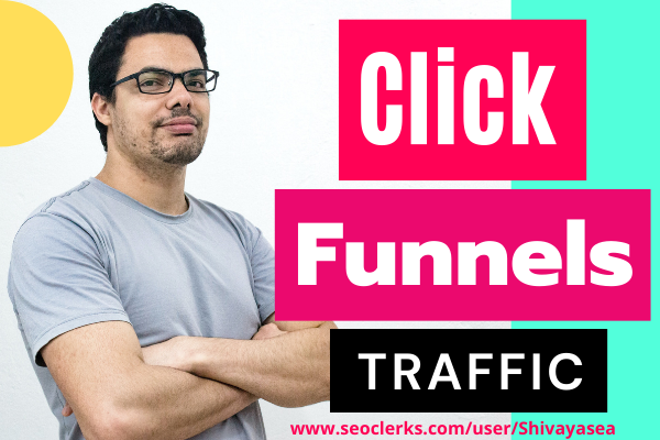 Click Funnels web traffic will be created for niche targeted possible results