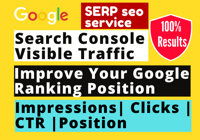 Improve your Site SERP+CTR ranking with Google Search Console traced traffic