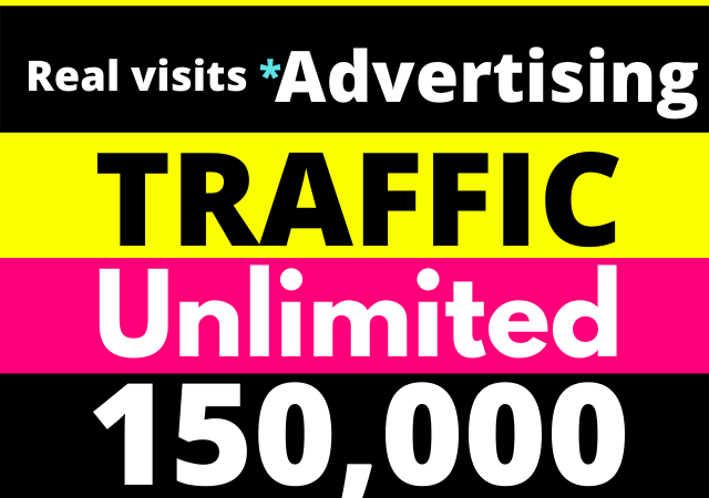 150,000+ Website Traffic from Advertising and Promotion