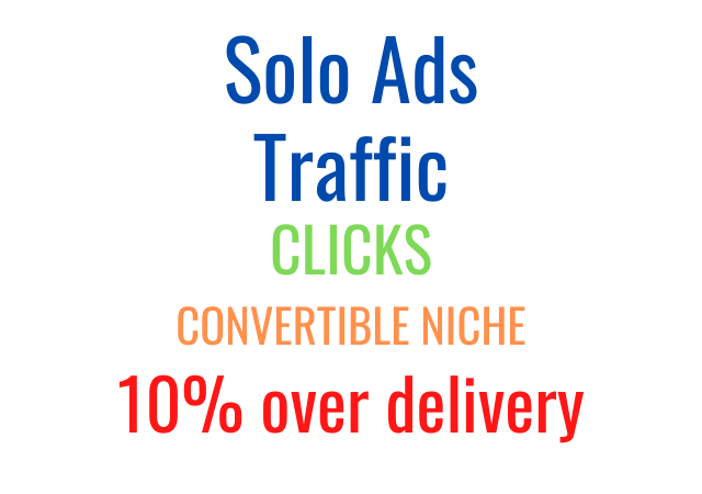 Get Solo Ads Traffic that Converts on any Niche