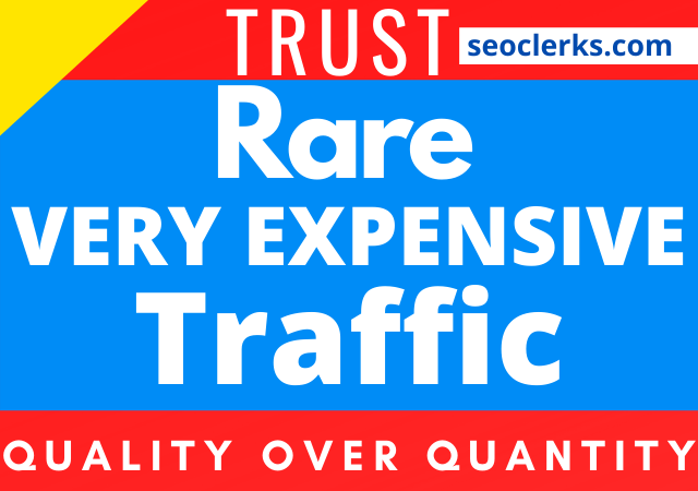 Get very rare and unique expensive traffic service for 30 days