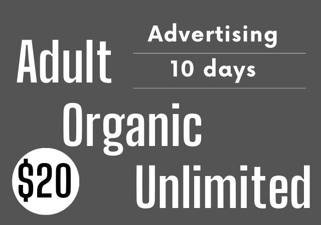 Get Adults website Traffic,  Promotions and Marketing for week