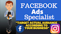 I will setup creative facebook ads campaign for your business