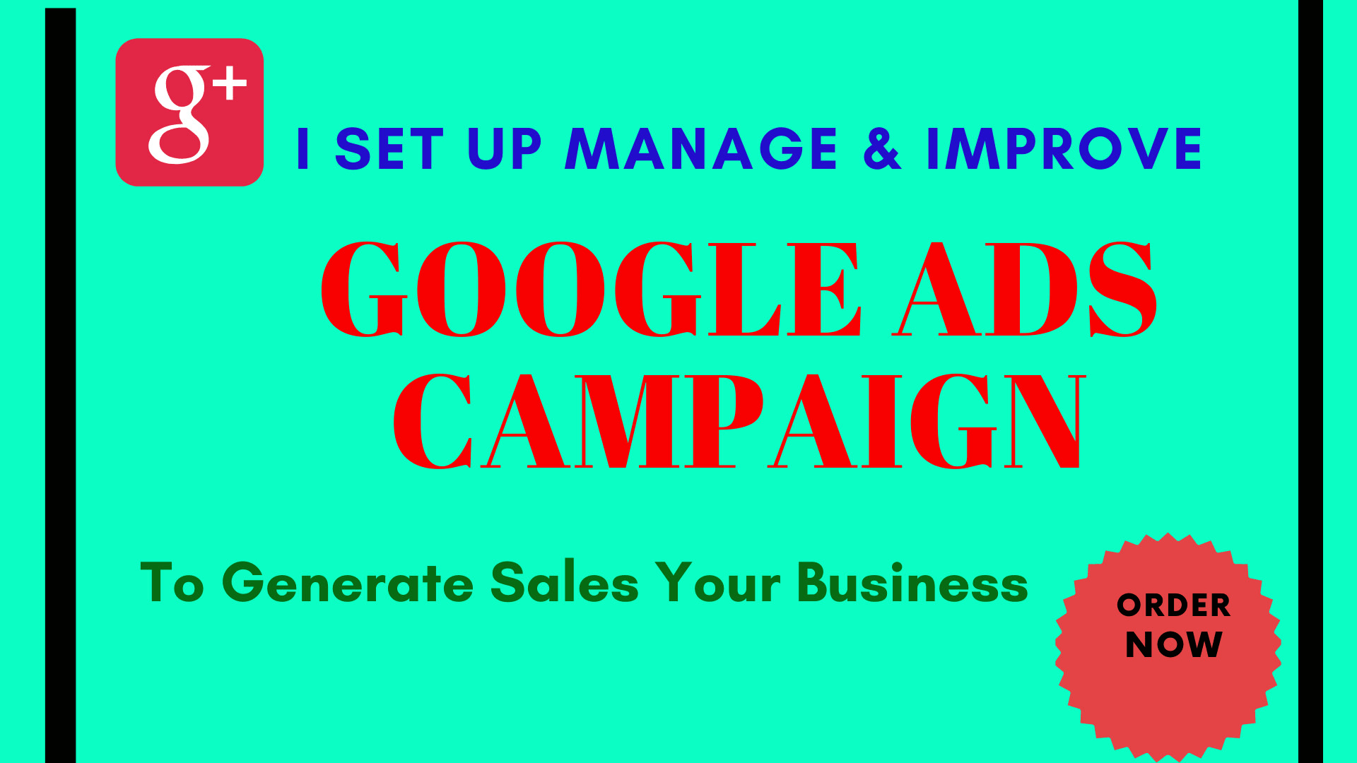 I will make google ads,  adwords to generate sales