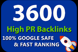 Provide 3600 HQ. Mix platforms PR10 to PR6 Backlinks