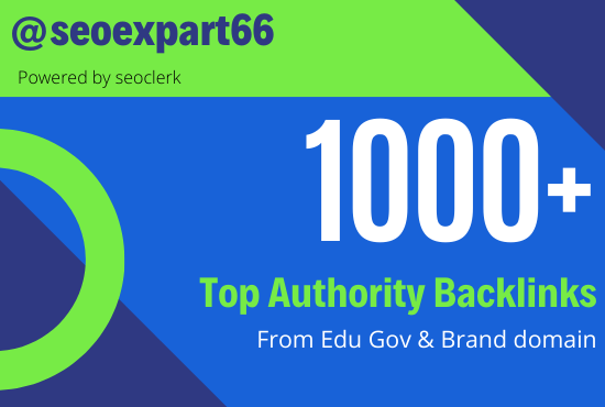 1000+ Top Quality Backlinks Pack In one service