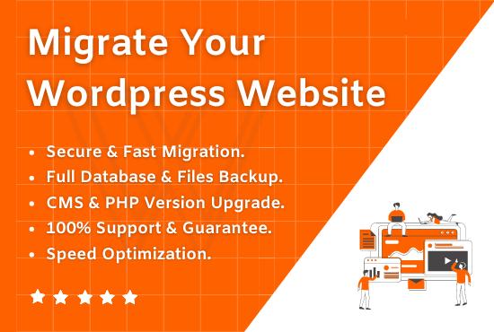 I will migrate wordpress or joomla website,  migration in just 24 Hours