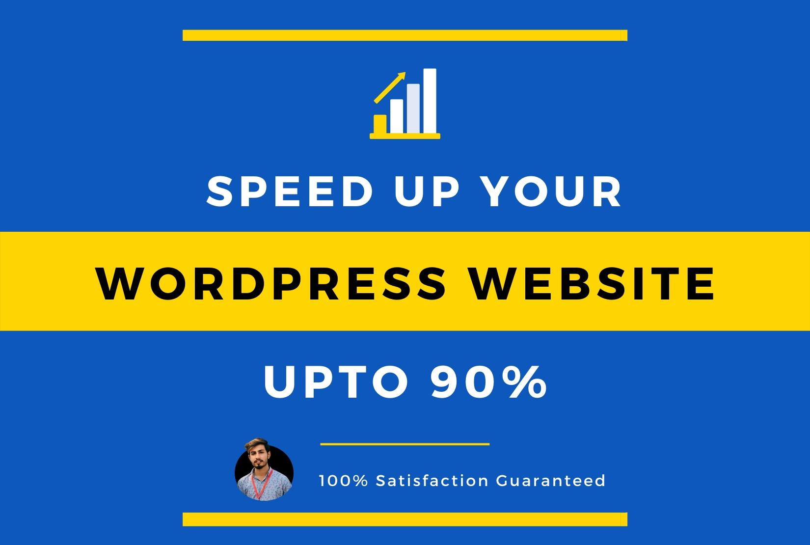 I will dramatically increase joomla or wordpress website speed,  optimization upto 90