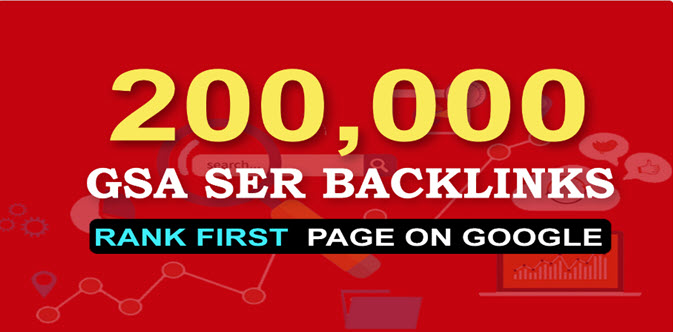 Provide more than 200,000 Backlinks best for Your Seo