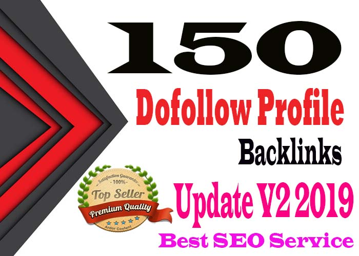 Manually Create 150 High Quality Pr9 & DA90 Profile Backlinks for your Website