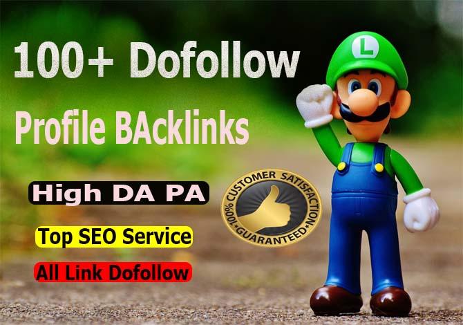 Create 100+ Dofollow High-Quality SEO Profile Backlinks