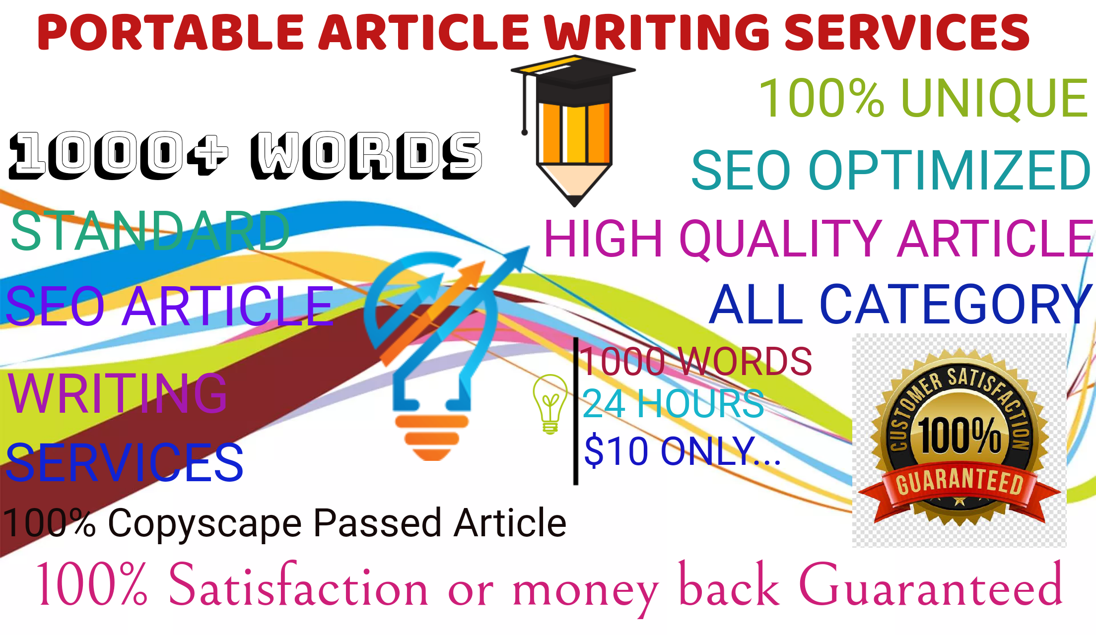 Specially Write A High Quality 1000 Word SEO Article or Blog Post