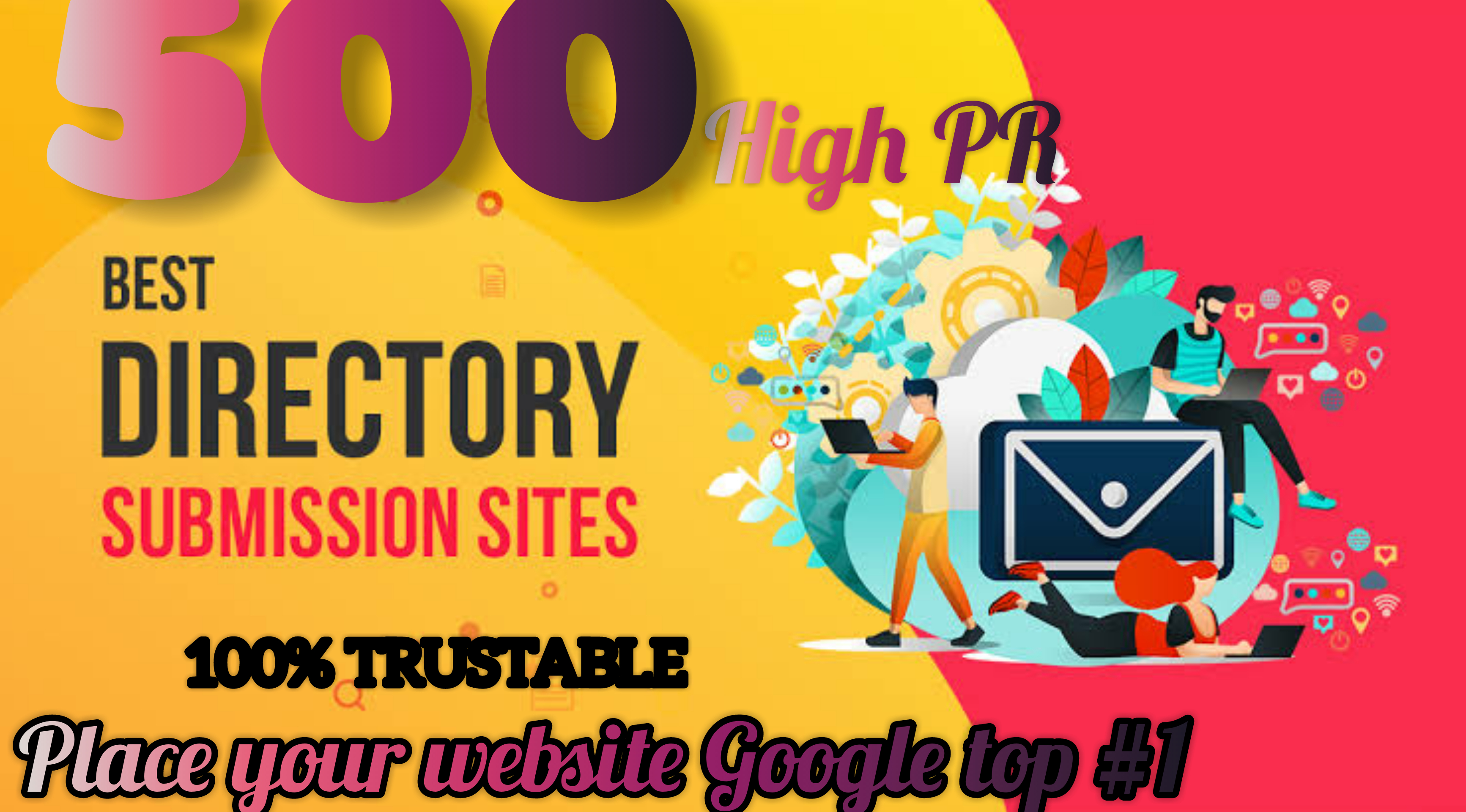Get 500 Do-follow High PR4-PR7 Highly Authorized Google Dominating Backlinks for 1
