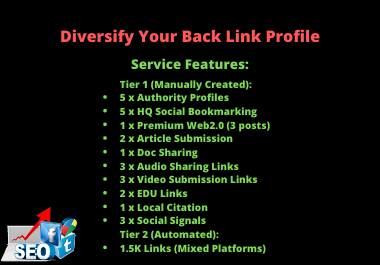 Diversify Backlink Profile - High Authority High Quality High PA/DA TF/CF Link Building Service