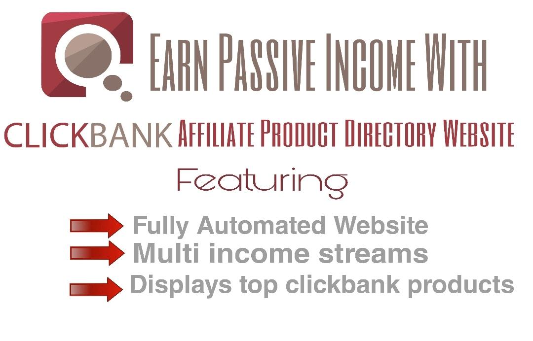 Autopilot Clickbank Affiliate Products Directory Website/Store - Earn On Autopilot