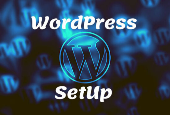 Build your Install Wordpress & website cutomaiz