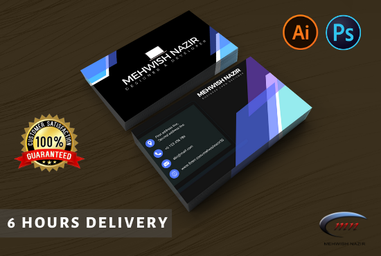 I will design professional,  modern and unique business card for you