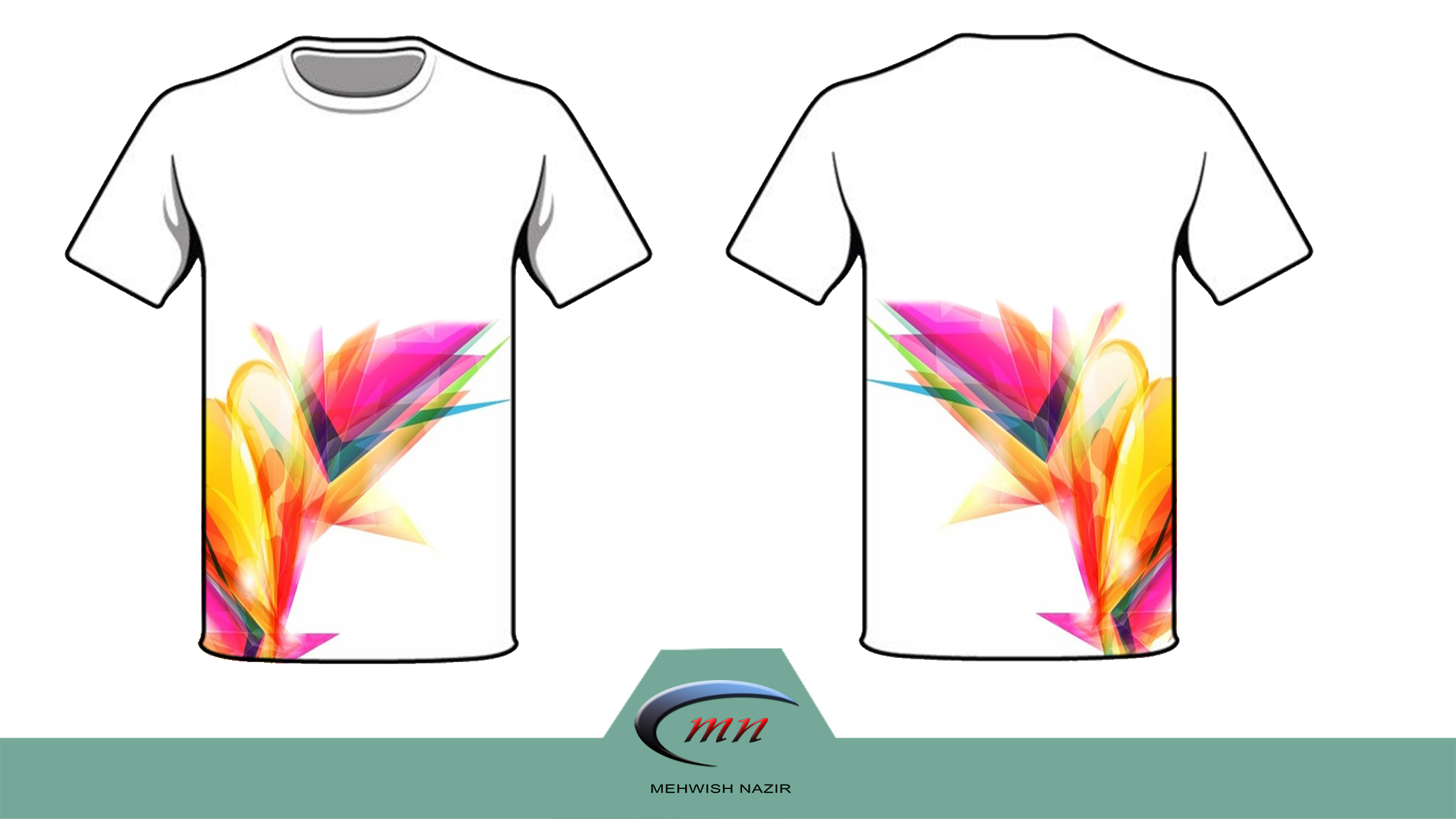 I can Design Atrracting T-shirts for you