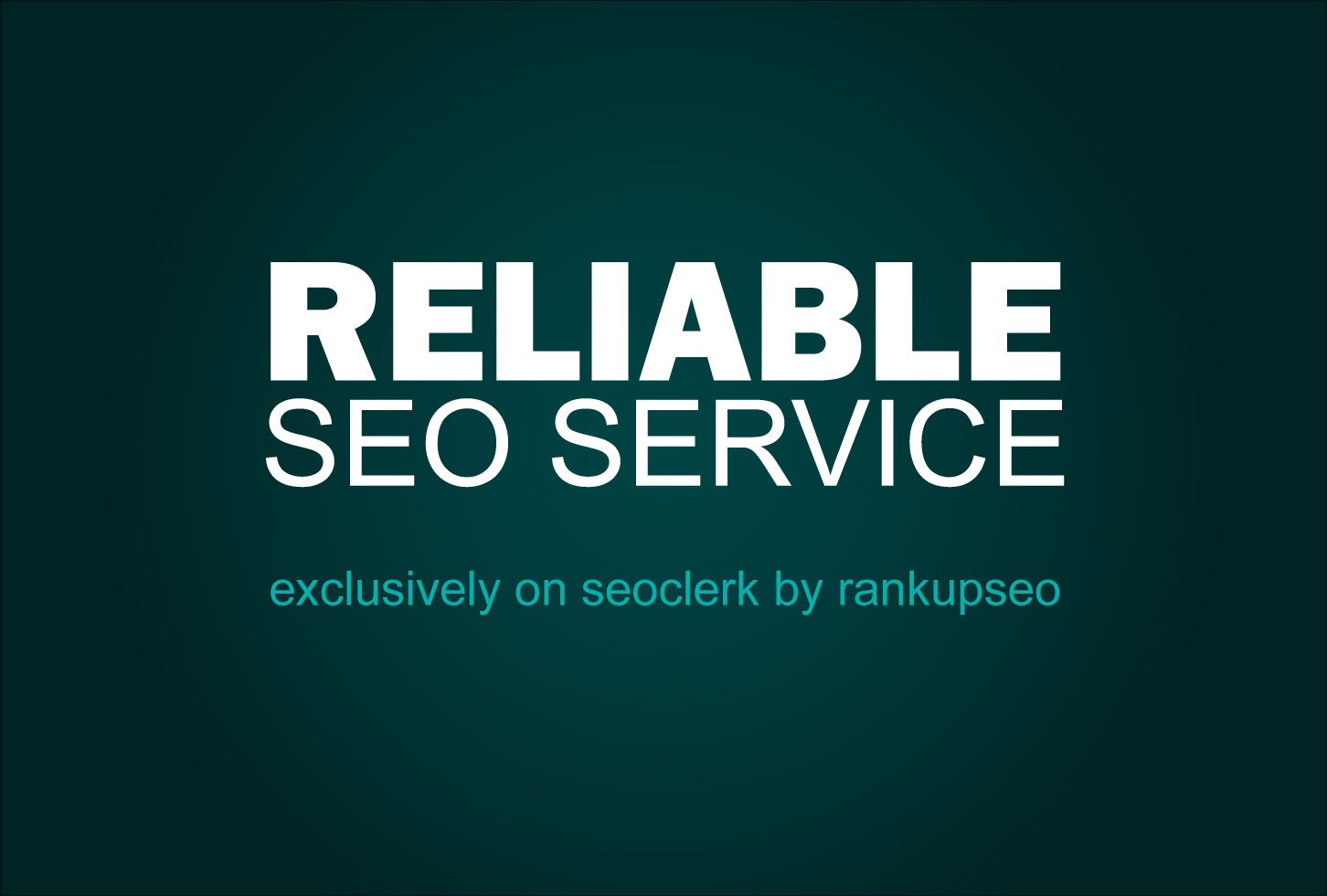 RELIABLE SEO Service - Whitehat Authority Backlinks